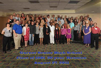 GSHS Class of 1981, 30 years later!